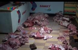 Bắt cơ sở sơ chế thịt heo chết, nhiễm bệnh tại Đồng Nai