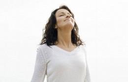 Hít thở sâu tốt cho sức khỏe