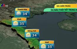 Nắng nóng diện rộng chấm dứt tại Bắc miền Trung