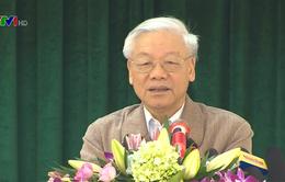 Tổng Bí thư dự Ngày hội đại đoàn kết toàn dân tộc tại tỉnh Bắc Ninh