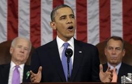 Tổng thống Obama nhấn mạnh vấn đề kinh tế trong Thông điệp Liên bang