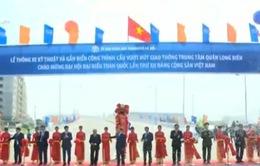 Thông xe kỹ thuật cầu vượt nút giao thông trung tâm quận Long Biên