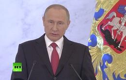 Thông điệp liên bang của Tổng thống Nga nổi bật trên báo chí quốc tế trong tuần