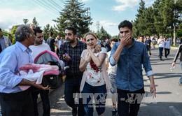Đánh bom tại Thổ Nhĩ Kỳ, gần 50 người thương vong