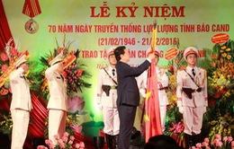 Lực lượng Tình báo CAND đón nhận Huân chương Hồ Chí Minh lần thứ 3