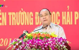 Thủ tướng chuyện trò với sinh viên Đại học Hải Phòng
