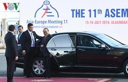 Thủ tướng Nguyễn Xuân Phúc dự phiên khai mạc Hội nghị cấp cao Á-Âu 11