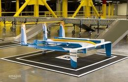 Amazon thử nghiệm máy bay không người lái giao hàng