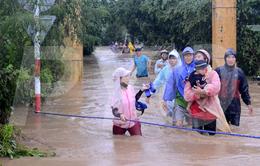 Chia sẻ của cô giáo cứu trẻ mầm non trong nước lũ tại Phú Yên
