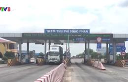 Tiếp tục thu phí tại Trạm thu phí Sông Phan