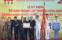 Thủ tướng dự lễ kỷ niệm 20 năm thành lập trường Đại học Khoa học và Công nghệ Hà Nội