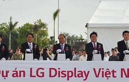 Khởi công dự án LG Display Hải Phòng