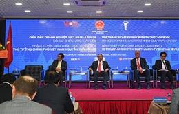 Thủ tướng dự Diễn đàn doanh nghiệp Việt Nam - Liên bang Nga