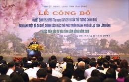 Thủ tướng dự lễ công bố cơ chế, chính sách đặc thù phát triển thành phố Đà Lạt