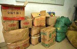 Hà Nội: Thu giữ nguyên liệu trà sữa không rõ nguồn gốc