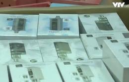 Thu giữ hàng nghìn thiết bị, tinh dầu thuốc lá điện tử tại Hà Nội