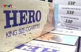 Bắt hơn 1.000 cây thuốc lá lậu từ An Giang về Cần Thơ
