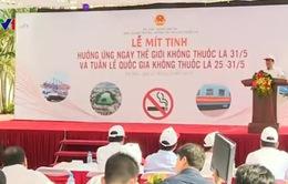 Bộ GTVT mít tinh hưởng ứng ngày Thế giới không thuốc lá