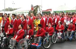 Lễ thượng cờ Đoàn thể thao người khuyết tật Việt Nam tại Paralympic Rio 2016