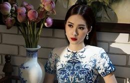 """Hoa hậu Đặng Thu Thảo """"hút hồn"""" với vẻ đẹp tinh khôi"""