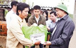 Hỗ trợ Bình Định khắc phục hậu quả mưa lũ