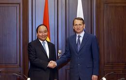 Thủ tướng Nguyễn Xuân Phúc hội kiến với Chủ tịch Duma Quốc gia Nga
