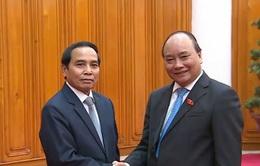 Thủ tướng tiếp Phó Thủ tướng, Tổng Thanh tra Chính phủ Lào