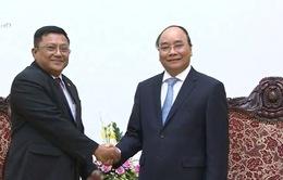 Thủ tướng tiếp Đại sứ Myanmar