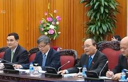 Thủ tướng tiếp Bộ trưởng Kế hoạch và Đầu tư Lào