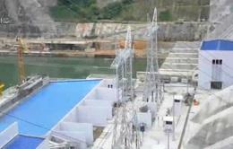 Tổ máy số 3 Nhà máy thủy điện Lai Châu hòa lưới điện quốc gia