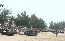 Ngư dân phản đối việc di dời bến neo đậu tàu thuyền ở bãi biển Sầm Sơn