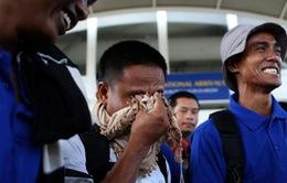 Hôm nay (25/10), 3 thuyền viên Việt bị cướp biển Somalia bắt giữ sẽ về nước