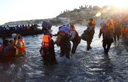 Người di cư kêu gọi EU mở cánh cửa vào châu Âu