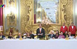 Tổng thống Italy chiêu đãi trọng thể Chủ tịch nước