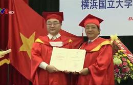 Trao học vị Tiến sĩ danh dự cho Giáo sư tiến sĩ Hitoshi Yamada