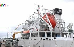 Bộ Tư lệnh Cảnh sát biển tiếp nhận tàu tuần tra cao tốc