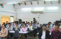 Việt Nam phối hợp giúp bồi dưỡng nghiệp vụ cho các nhà báo Lào