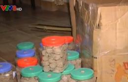 Hà Tĩnh: Tiêu hủy 227 kg thuốc chữa thần kinh không rõ nguồn gốc