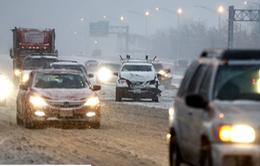 Tai nạn giao thông liên hoàn nghiêm trọng do băng giá ở Mỹ