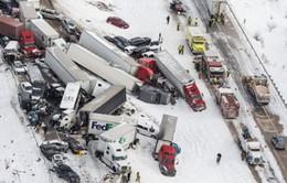 Tai nạn giao thông liên hoàn tại Mỹ: 3 người thiệt mạng