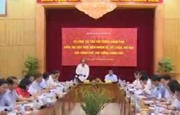 Tổ công tác của Thủ tướng Chính phủ làm việc tại Bộ Kế hoạch và Đầu tư