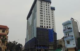 Hà Nội hoàn thành phá dỡ giai đoạn 1 toà nhà 8B Lê Trực