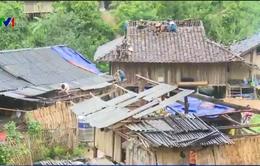 Sơn La, Bắc Kạn: Giông lốc làm 1 người chết, hàng trăm ngôi nhà bị tốc mái
