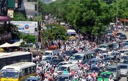 Tăng tốc độ xe chạy trong khu dân cư thêm 10 km/h