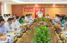 Tổng Bí thư Nguyễn Phú Trọng thăm và làm việc tại tỉnh Hà Tĩnh