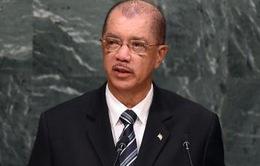 Tổng thống Cộng hòa Seychelles tuyên bố từ chức