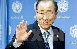 Tổng Thư ký Ban Ki-moon chào từ biệt nhân viên Liên hợp quốc