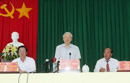 Tổng Bí thư Nguyễn Phú Trọng thăm và làm việc tại Tiền Giang