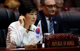 """Bê bối chính trị ở Hàn Quốc: Đặt thỏa thuận hợp tác với các nước lớn vào thế """"dở dang"""""""