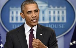 """Tổng thống Obama: """"Không cấm hoàn toàn quyền sở hữu súng"""""""